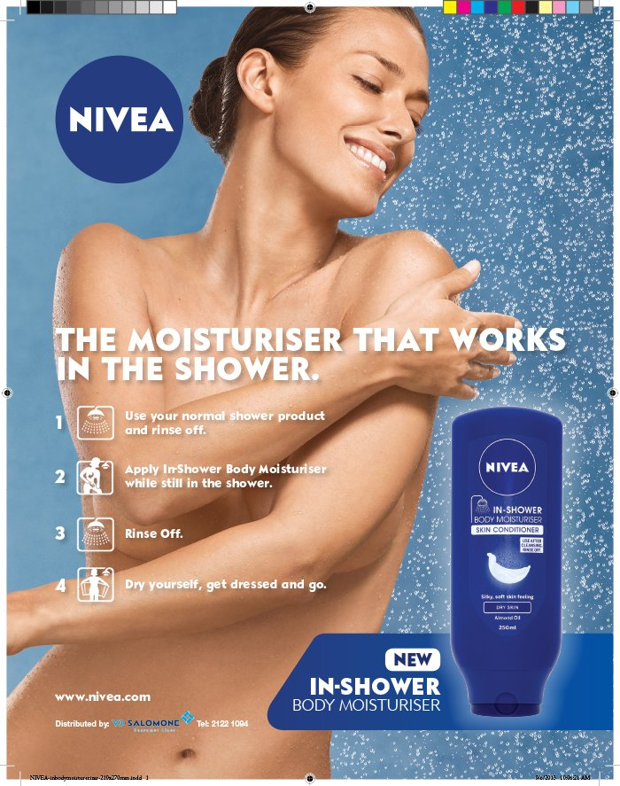advertising and nivea Advertising has a whiteness problem here's how to fix it this week, controversial ads from pepsi and nivea ads revealed a weak spot for their brands.